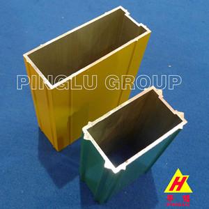 Powder Coated Aluminium Alloy Curtain Wall Profile - Pinglu