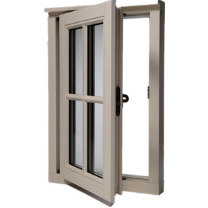 Aluminium Alloy Opening Window with Grill