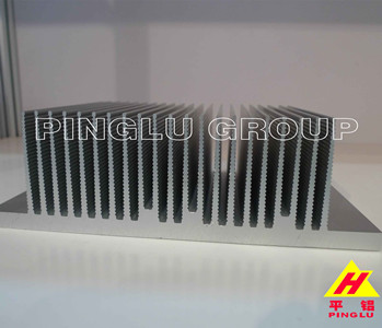 Anodized Black Aluminium Profile for Heat Sink