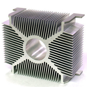 Mill Finish Aluminium Heat Sink